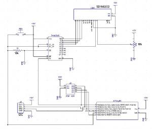 Mcu 0051-lcd-i2c-board - wikipost